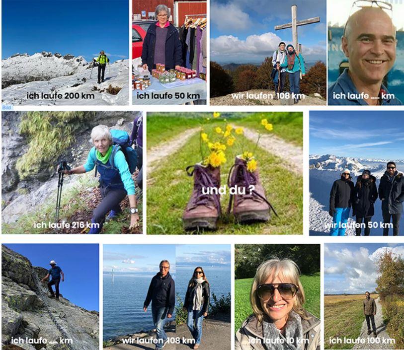 Walk of Love Switzerland