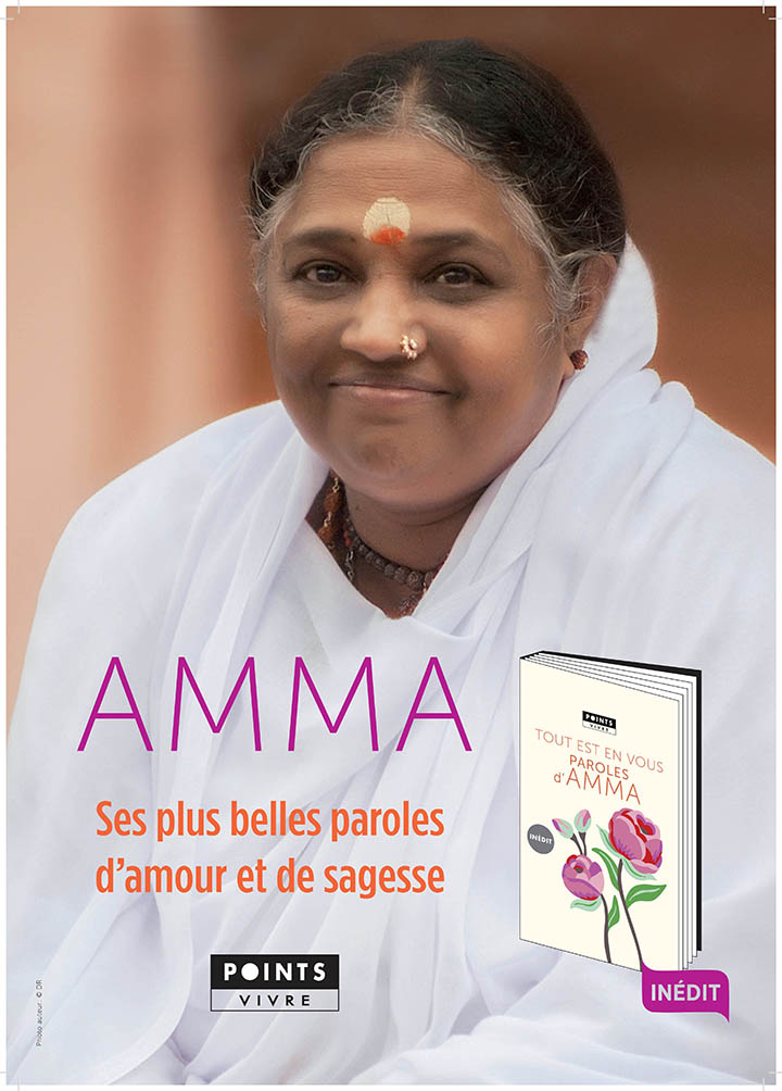 sortie d un livre de citation d amma aux editions seuil etw france amma. Black Bedroom Furniture Sets. Home Design Ideas
